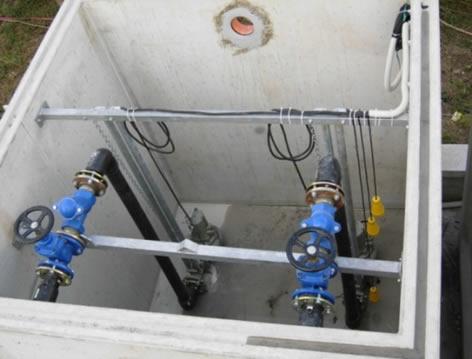 Impianto di sollevamento acque reflue